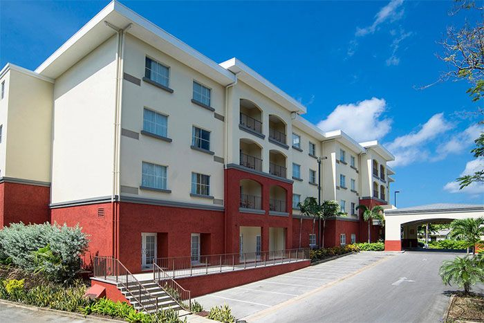 Courtyard Bridgetown Barbados main exterior